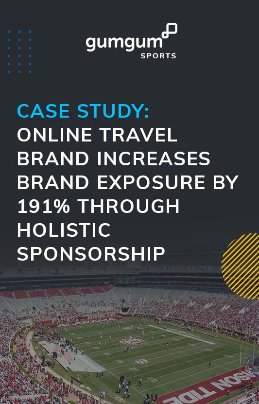 Graphic online travel brand increases brand exposure